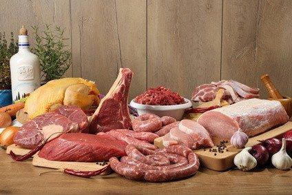 Verschiedene Fleischsorten für den Grillkurs