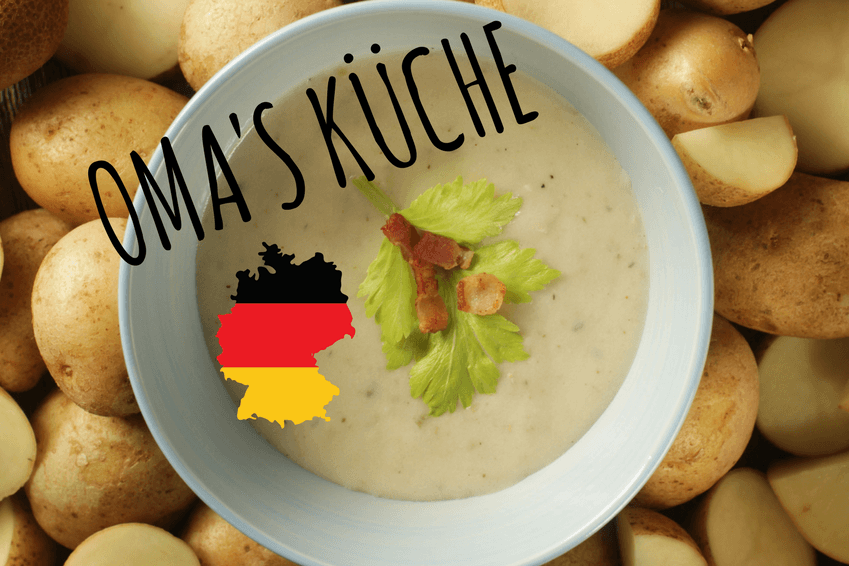 Rezept Kartoffelsuppe Kochkurs deutsche Küche – Kochwerkstatt Wiesbaden