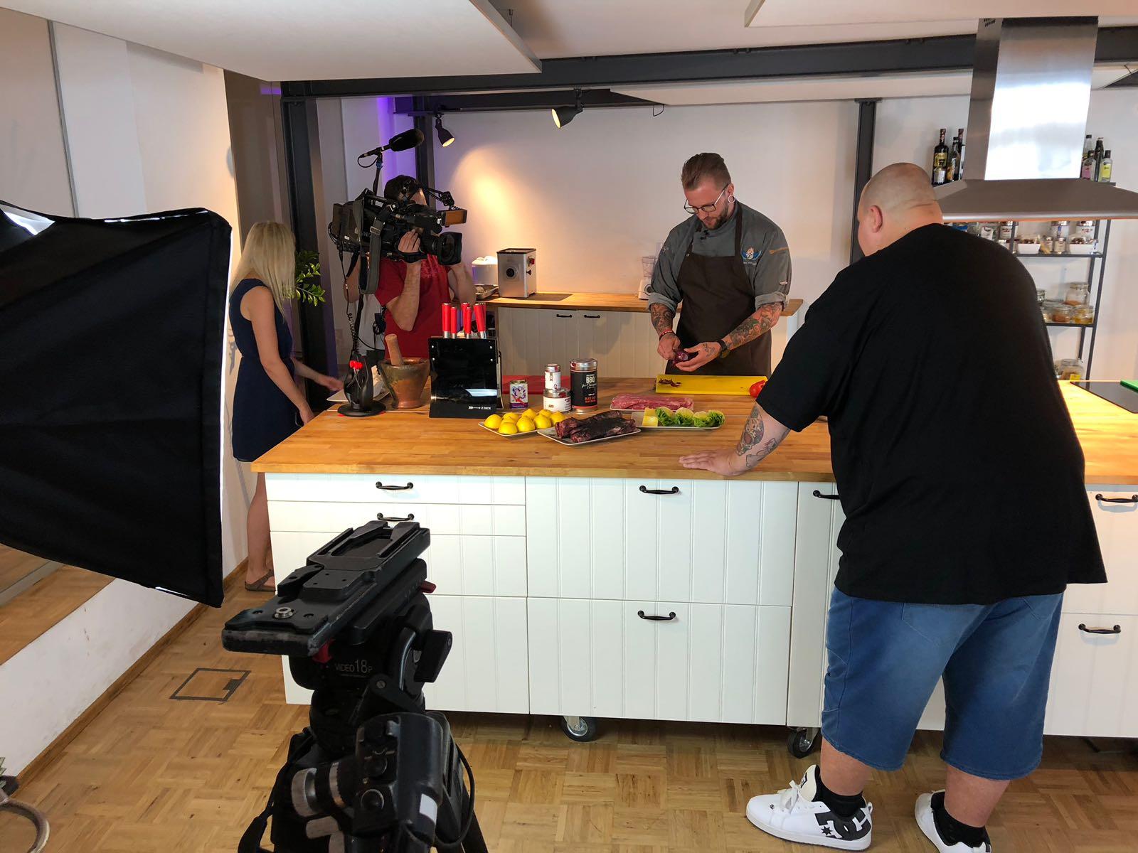 RTL Hessen zu Besuch in der Kochwerkstatt